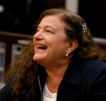 Andrea Lyon laughing