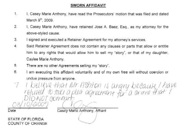 caseys-sworn-statement