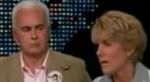 George glaring at Cindy