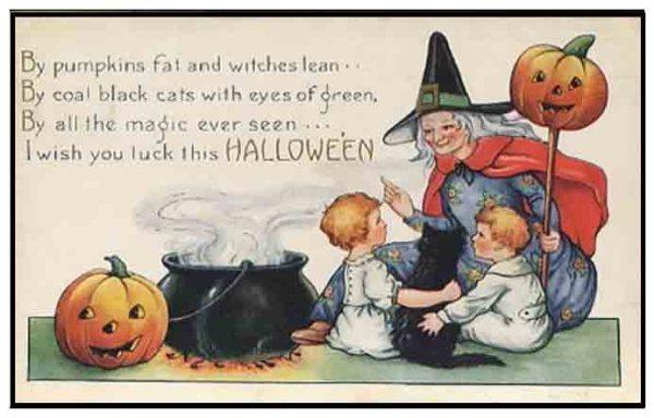 Halloween postcard copy